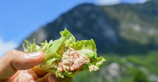 Scombro Chiavennese - makrelsalat fra de Italienske alper