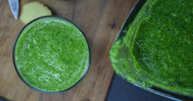 Anti-inflammatorisk grøn smoothie