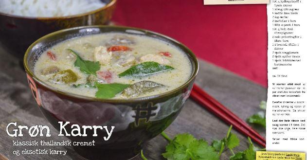 Grøn thailandsk Karry